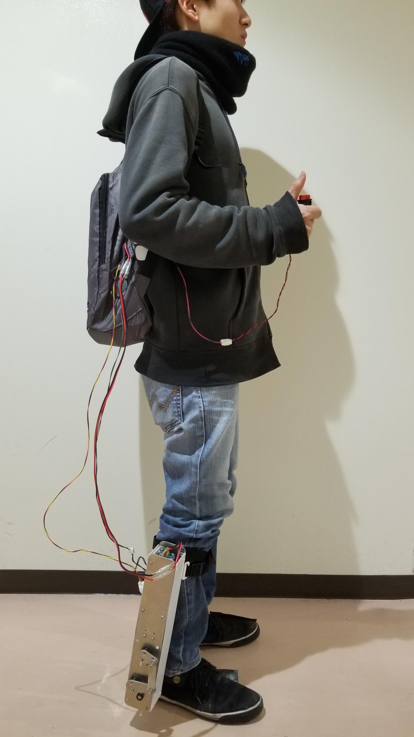 装着型歩行アシスト装置