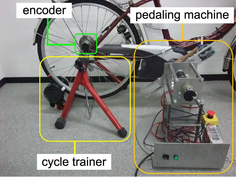 電動自転車のペダリングトルクの測定