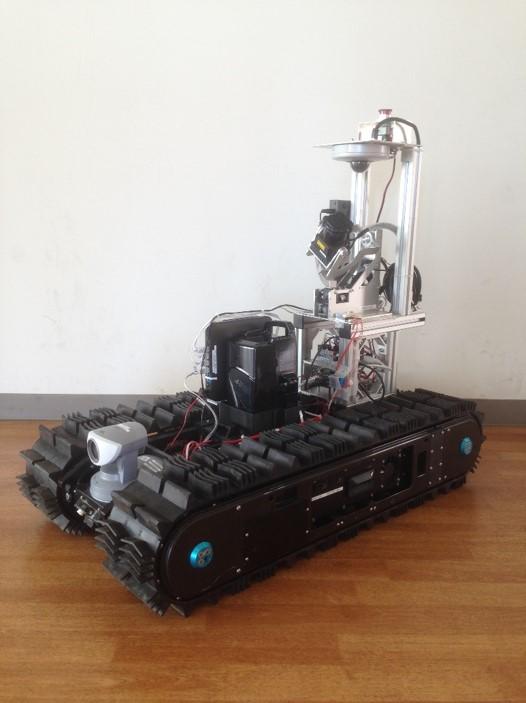 災害対応レスキューロボットの研究